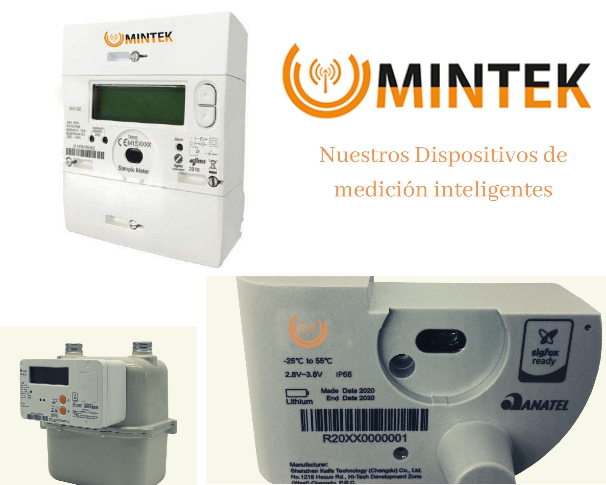 Medidores de Gas para Telemetría y Control Remoto, Mintek
